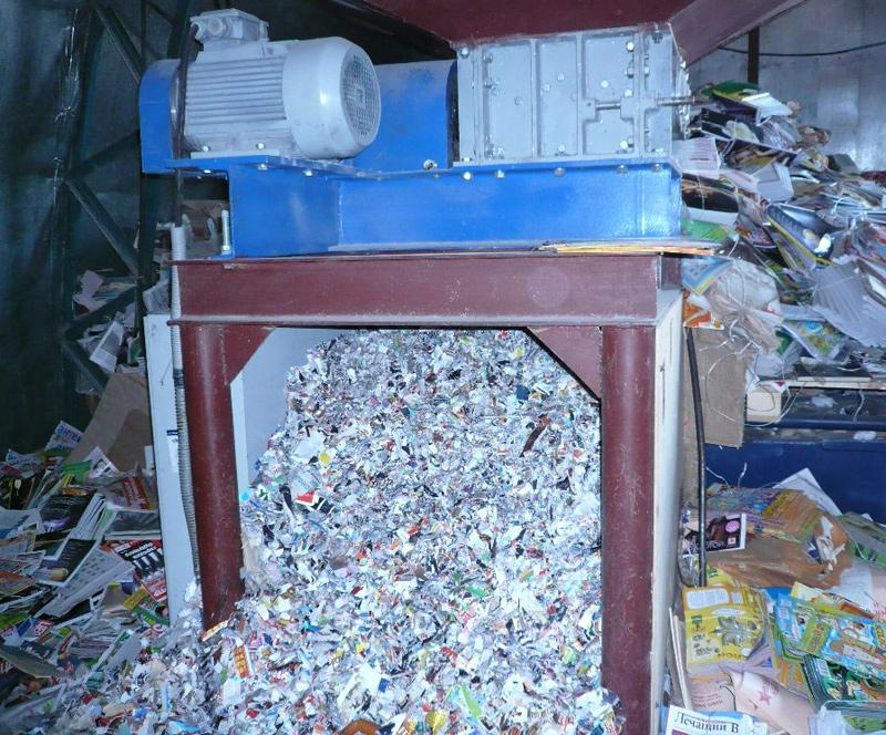 Переработка бумаги и картона